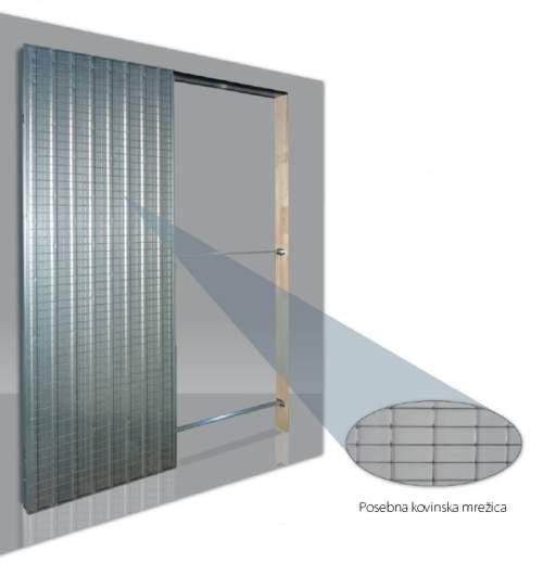 Vgradne kasete za drsna vrata IRONFLEX